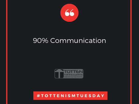 Tottenism Tuesday: 90% Communication