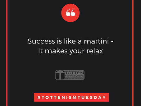 Tottenism Tuesday: Success Is Like A Martini