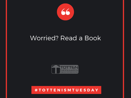 Tottenism Tuesday: Worried? Read a Book