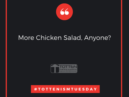 Tottenism Tuesday: More Chicken Salad, Anyone?