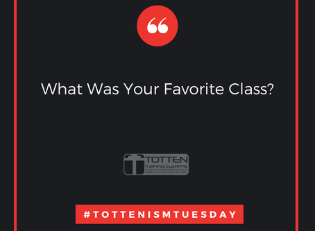 Tottenism Tuesday: What Was Your Favorite Class?