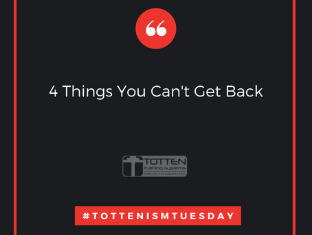 Tottenism Tuesday: Four Things Your Can't Get Back