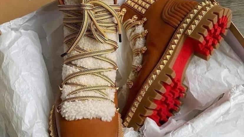 CL Peanut Butter Boots