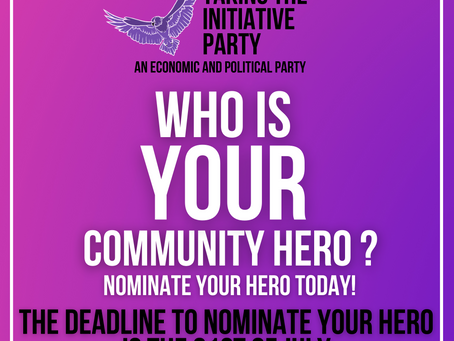 Have you nominated your community hero?