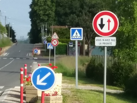 The French Obsession with Road Signs