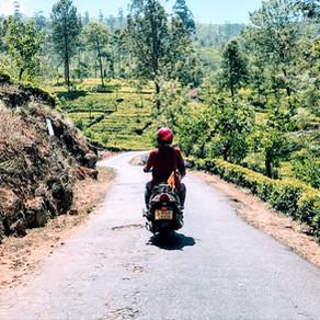 A 30 day motorbike tour of Sri Lanka