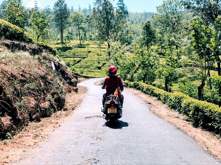 A 30 day motorbike tour of Sri Lanka