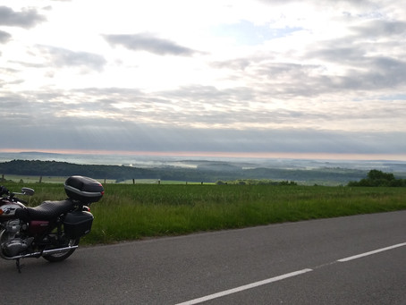 Day 8: Solo motorbike tour of France (Reims - Calais)
