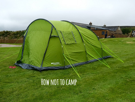 How not to camp