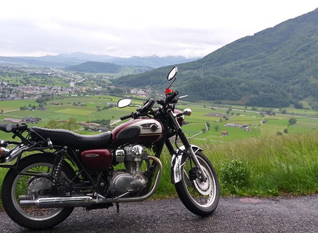 My 8 day solo motorcycle tour of France (Alsace region & Vosges Mountains)