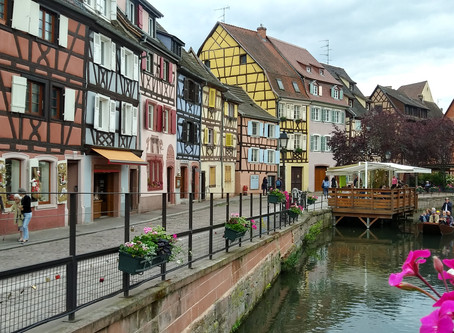 Day 4: Solo motorbike tour of France (Strasbourg to Mulhouse & Ballons de Vosges)