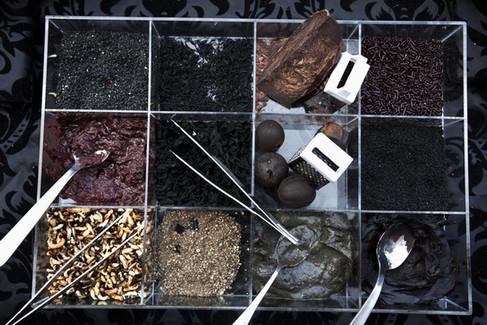 Black food pantry
