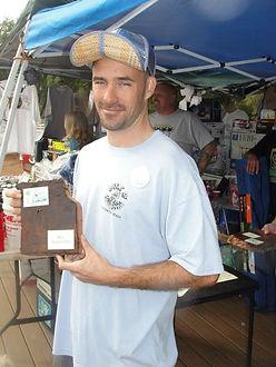 Adam won best survivor van at Wheels of