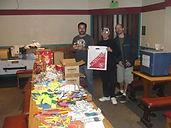 Greg, Robert & Adam at our Goody Bag Stu
