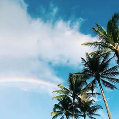 Somewhere over the rainbow🌈 #rainbow #h