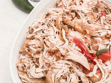Harissa Shredded Chicken Recipe