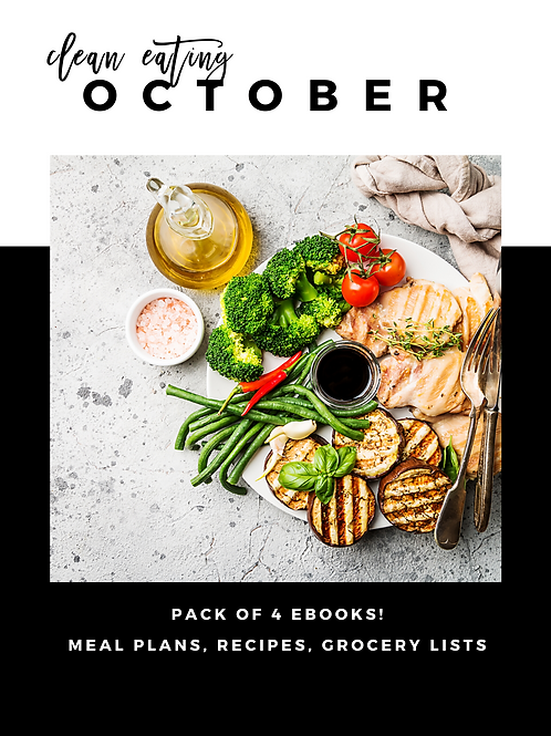 October Clean Eating Guides