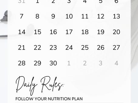 30 Day Hard Tracker