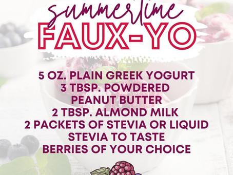 Summertime Faux-Yo