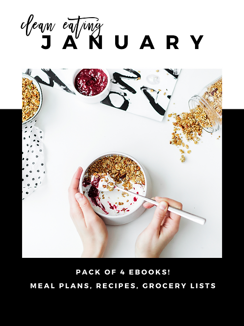 January Clean Eating Guides