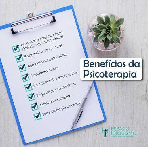 Benefícios da Psicoterapia