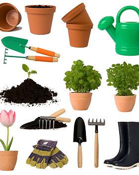 Gardening Collage
