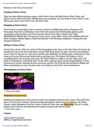 Circus Circus Hotel Review Las Vegas _ K