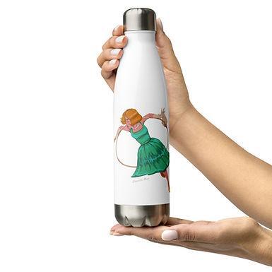 Aerial Hoop Stainless Steel Water Bottle