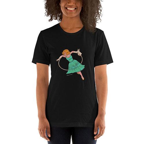 Aerial Hoop Short-Sleeve Unisex T-Shirt