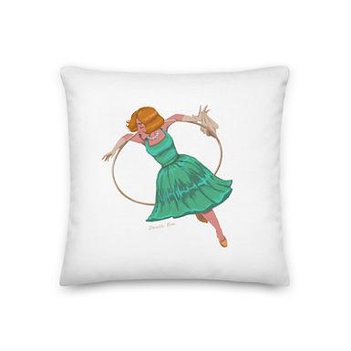 Aerial Hoop Premium Pillow