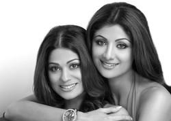 Shilpa & Shamita Shetty - HT