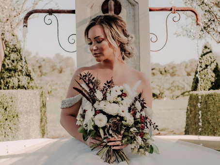 Modern Moody Winery Wedding | Styled Shoot