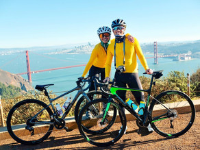 Road cycling with your significant other
