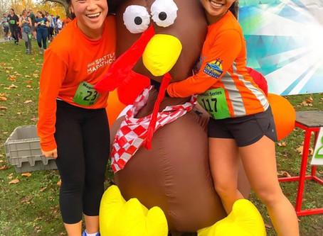 Turkey Trot and Seattle Half Marathon 2018