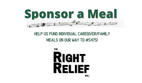 Sponsor a Caregiver's Family Meal