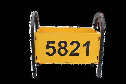 Custom 18 inch flower box with your Address!