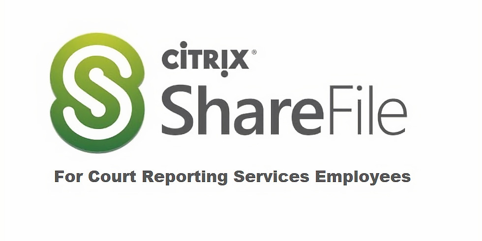 ShareFile for CRS Employees