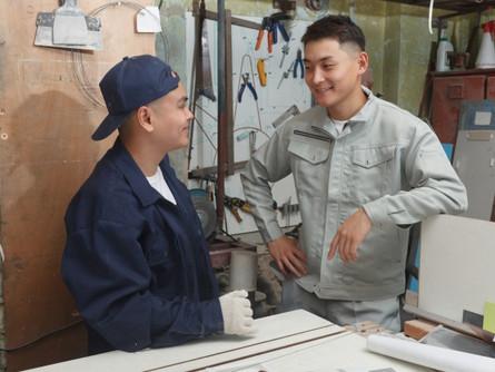 ある板金加工事業者での技能実習生と日本人従業員の関係