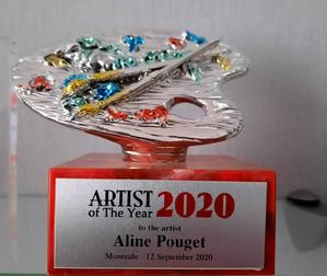 Artiste de l'année 2020