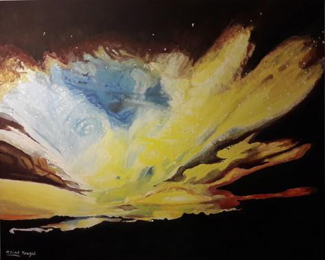 Lumières Jaunes dans le Cosmos