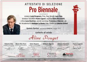 ATTESTATO-probiennale2021-Aline Pouget.j