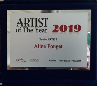 Artiste de l'année 2019
