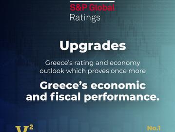 Standard & Poor's nâng bậc xếp hạng và triển vọng của Hy Lạp (Greece)