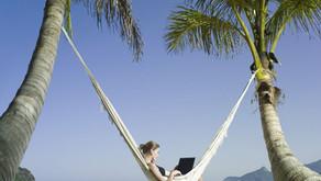 Giấc mơ làm việc từ xa trên một bãi biển tiềm ẩn nguy cơ gây ra cơn ác mộng về thuế