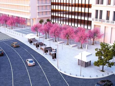 Hy Lạp (Greece) - Athens dự định biến quảng trường Syntagma thành một khu đô thị bền vững
