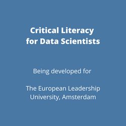 Critical Literacy for Data Scientists