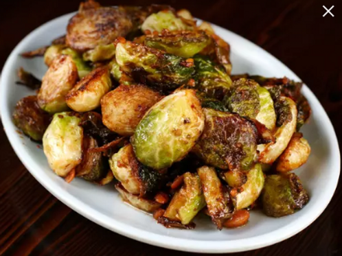 BRUSSELS SPROUTS IN BEAN SAUCE