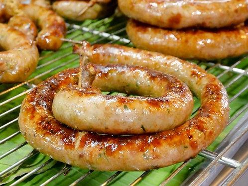 Isaan Herbed Pork Sausage