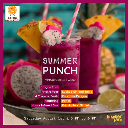 Summer Punch August 8th at 5PM