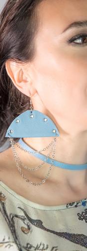 Designer - Maria Milovidova Earrings - Olga Kholodenko Photography - Lance Miller
